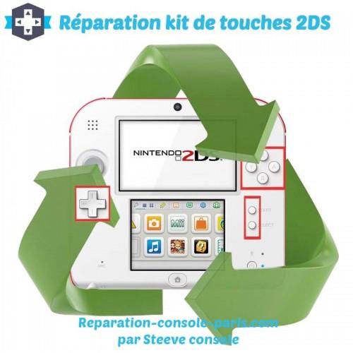 Réparation kit de touches 2DS