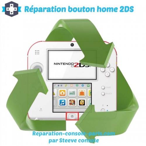 Réparation bouton home 2DS