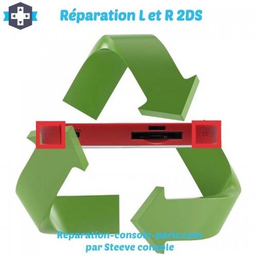 Réparation bouton gachette L et R 2DS