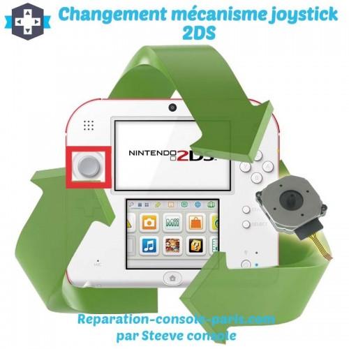 Réparation mécanisme joystick 2DS