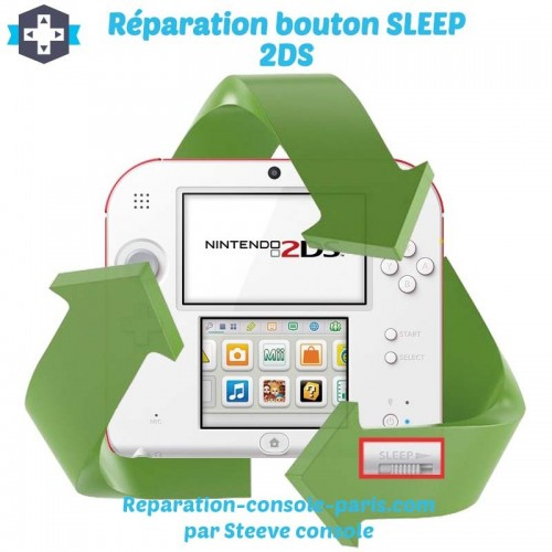 Réparation bouton sleep 2DS