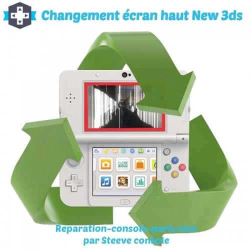 Réparation écran haut new 3DS