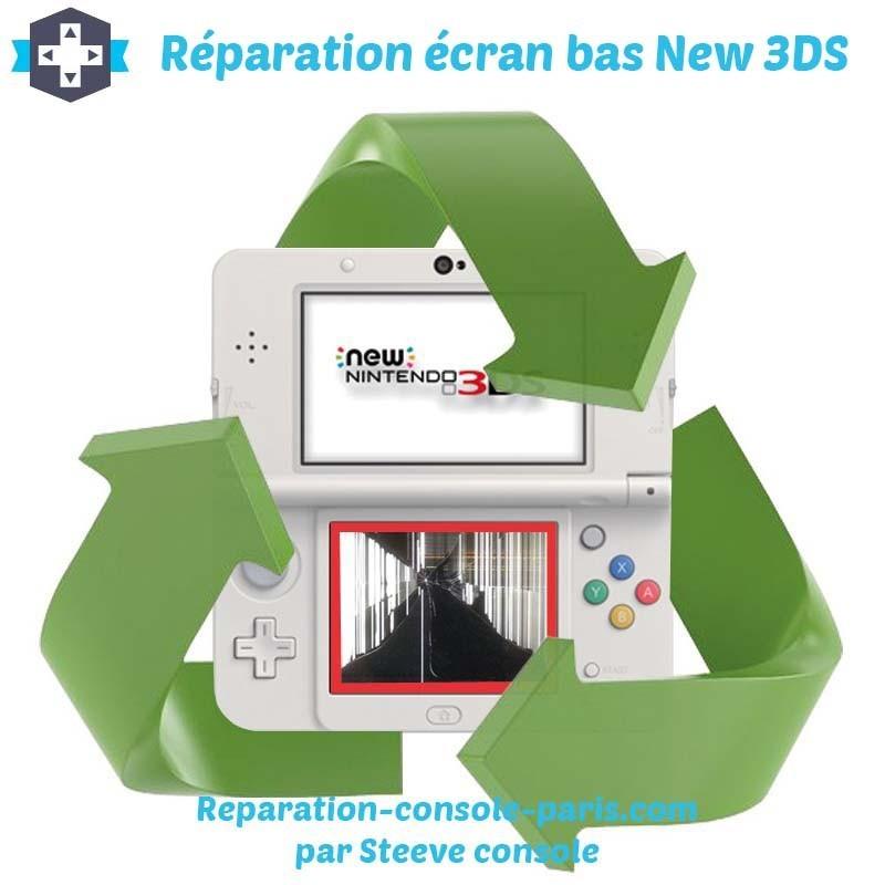 Réparation écran bas new 3DS