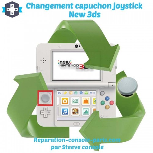Réparation capuchon joystick new 3DS