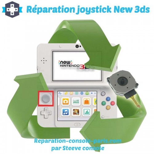Réparation joystick new 3DS