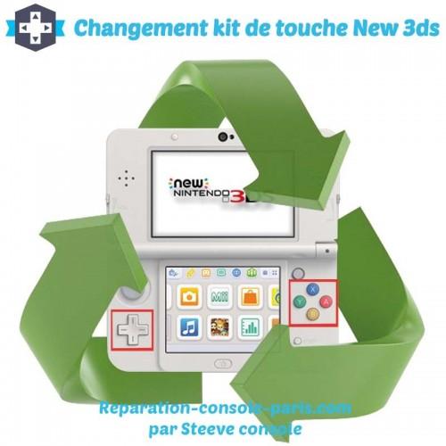 Réparation kit de touche new 3DS