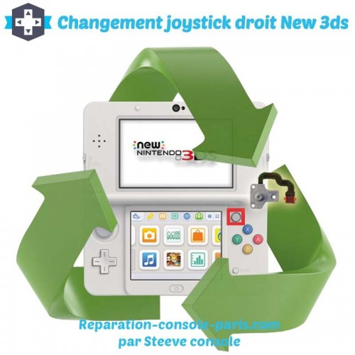 Reparation stick droit new 3DS