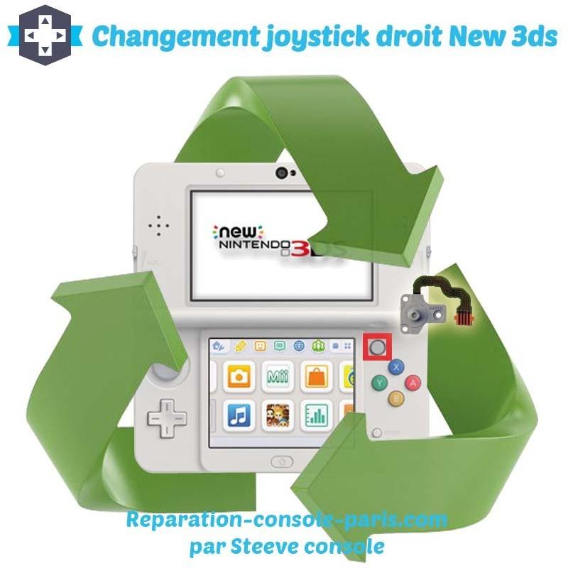 Reparation stick droit new 3DS