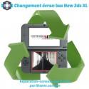 Réparation écran bas new 3DS XL