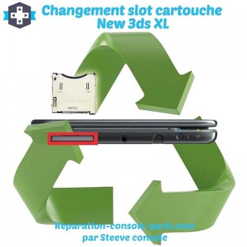 Réparation slot cartouche new 3DS XL