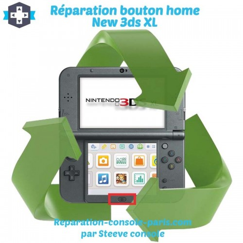 Réparation bouton home new 3DS XL