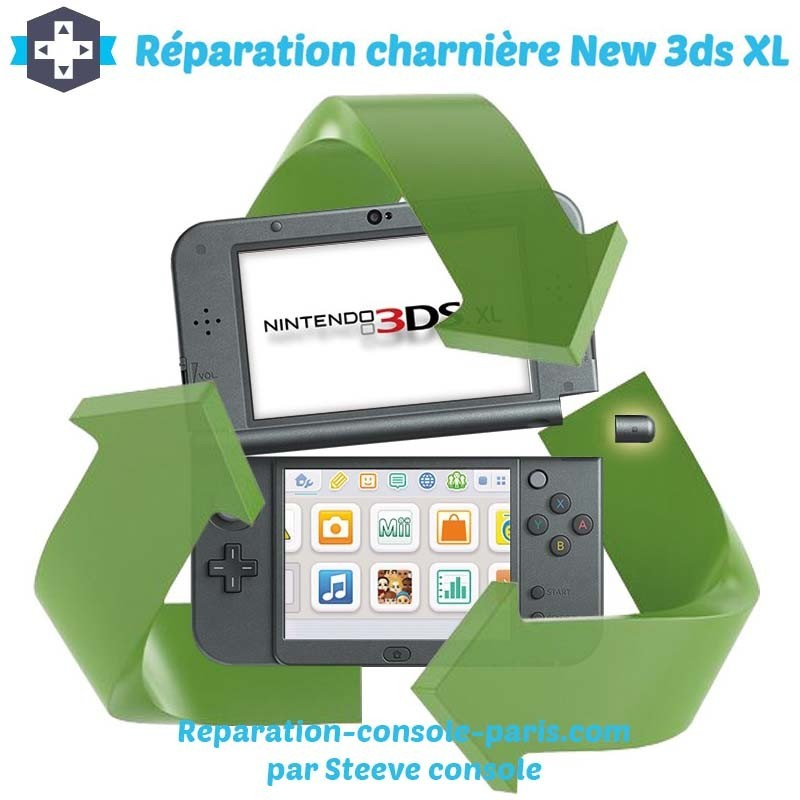 Réparation charniere new 3DS XL