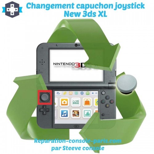 Réparation capuchon joystick new 3DS XL