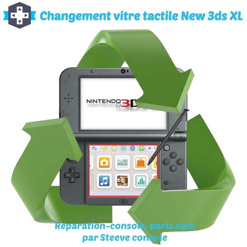 Réparation écran tactile new 3DS XL