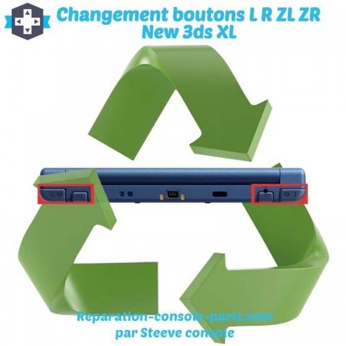 Réparation gachette L et R new 3DS XL