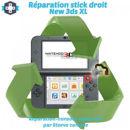 Réparation stick droit new 3DS XL