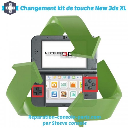 Réparation kit de touche new 3DS XL
