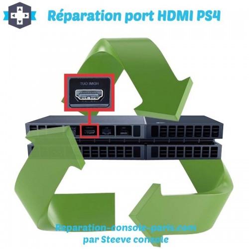 Réparation port HDMI PS4 plus d'image