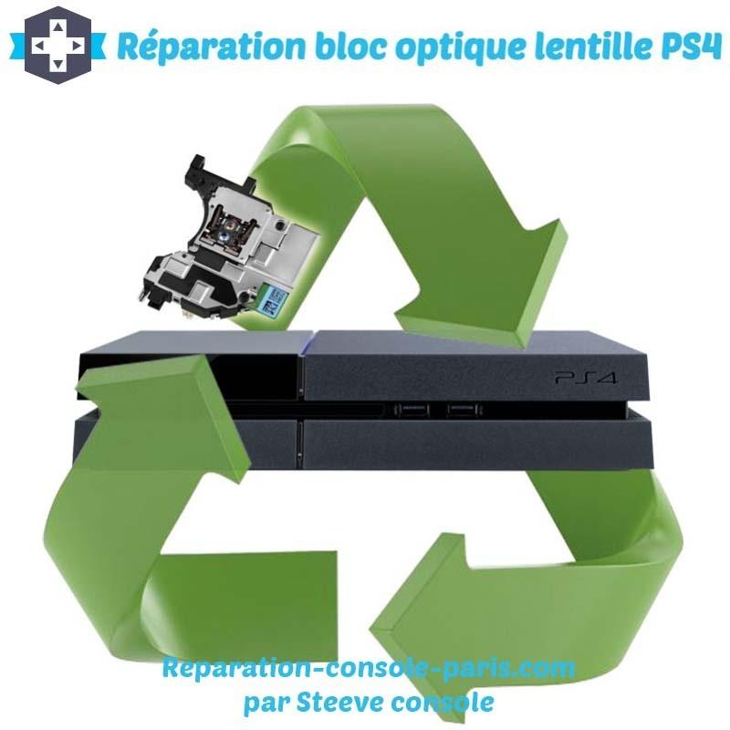 Réparation bloc optique lentille PS4