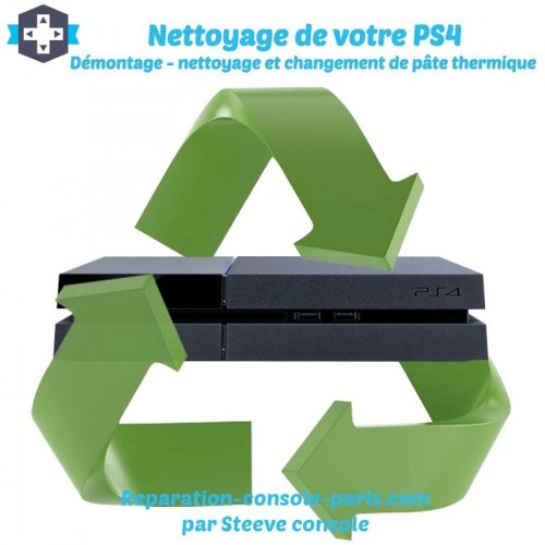 Nettoyage PS4 changement pate thermique