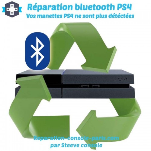 Réparation bluetooth PS4
