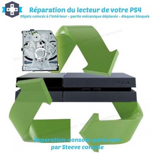 Réparation lecteur blue ray PS4