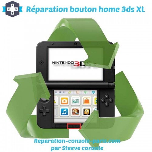 Réparation bouton home 3DS XL