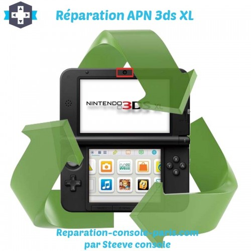 Réparation appareil photo 3DS XL