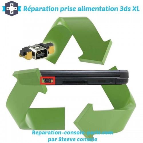 Réparation connecteur prise d'alimentation 3DS XL