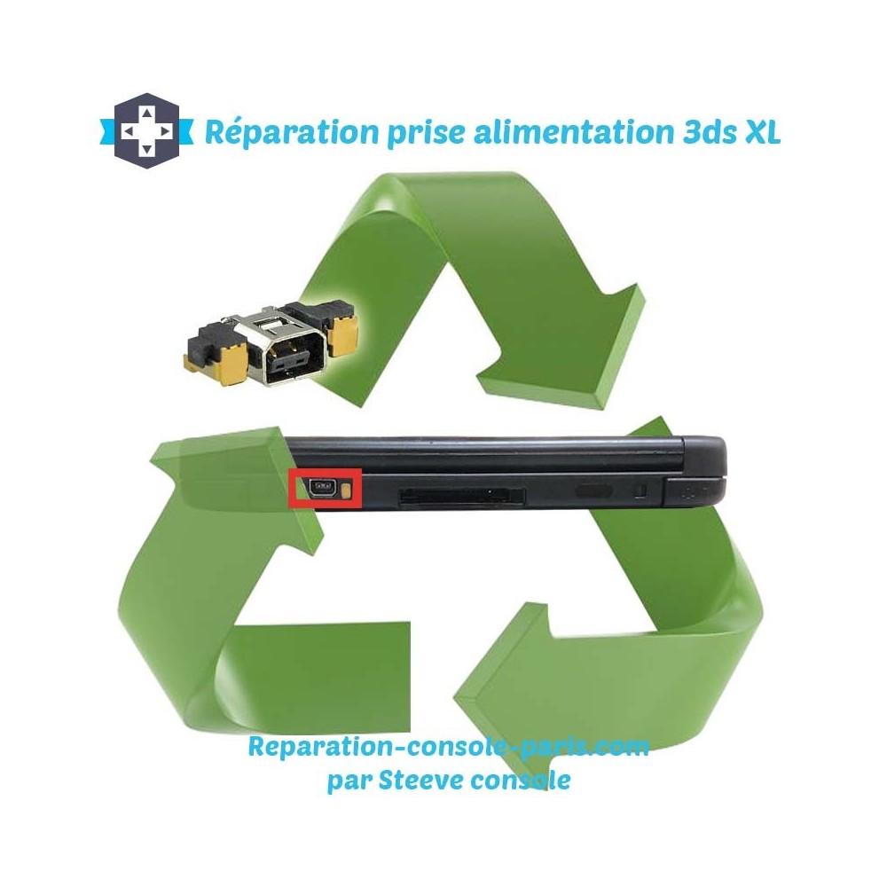 R paration connecteur prise d 39 alimentation 3ds xl r paration console paris - Reparation console paris ...
