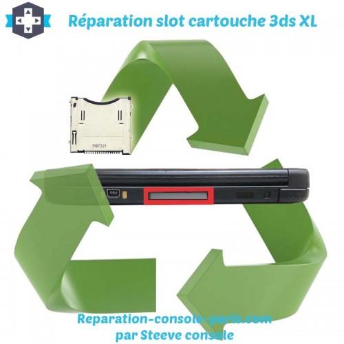 Réparation slot cartouche 3DS XL