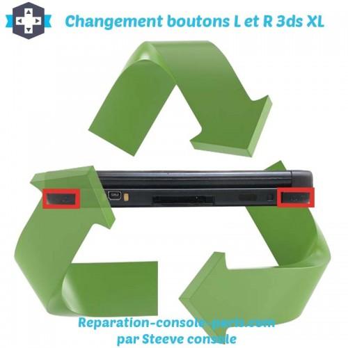 Réparation boutons L et R 3DS XL