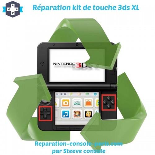 Réparation kit de touche 3DS XL