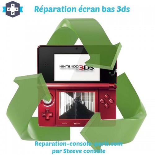 Réparation écran bas 3DS