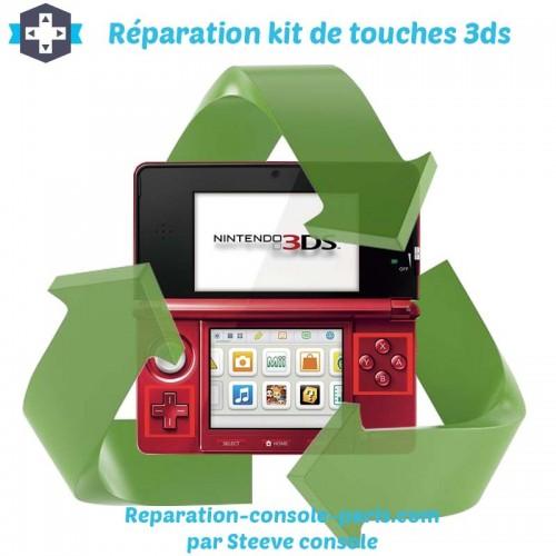 Réparation kit de touche 3DS