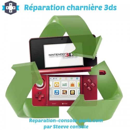 Réparation charnière 3DS