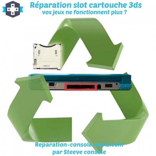 Réparation slot cartouche de jeux 3DS