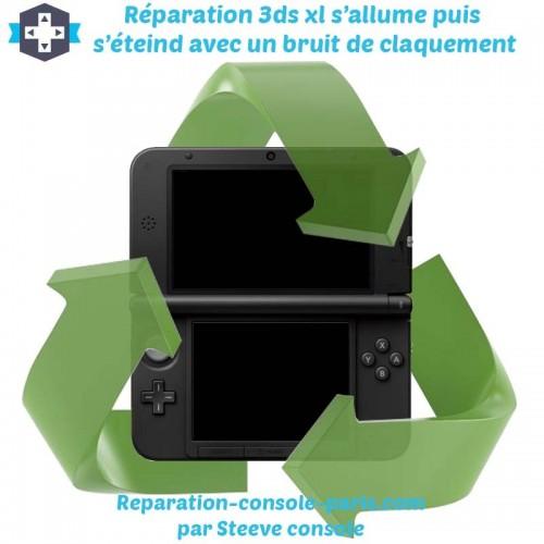 Réparation 3DS XL s'allume puis s'éteind