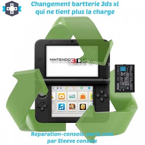 Réparation 3DS XL changement de batterie