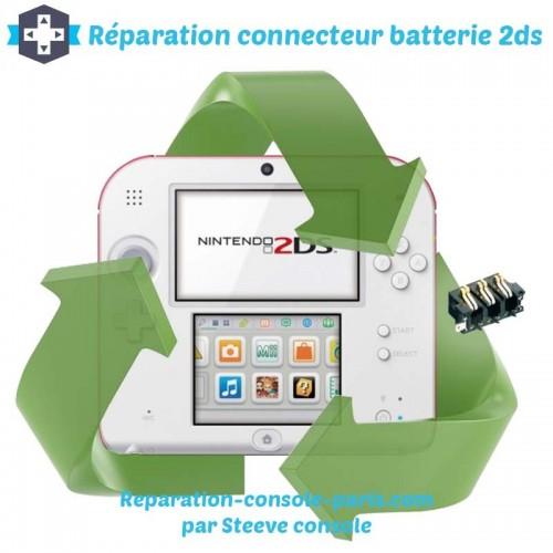 Réparation connecteur batterie 2DS