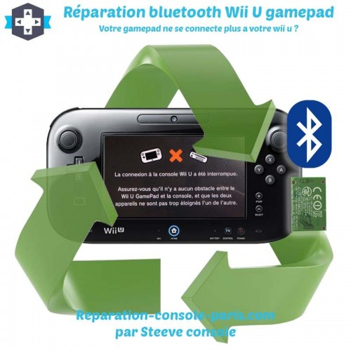 Réparation bluetooth gamepad Wii U ne se connecte plus