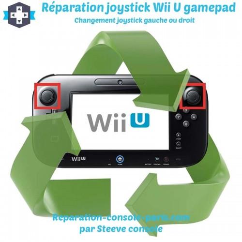 Réparation joystick analogique Wii U Gamepad