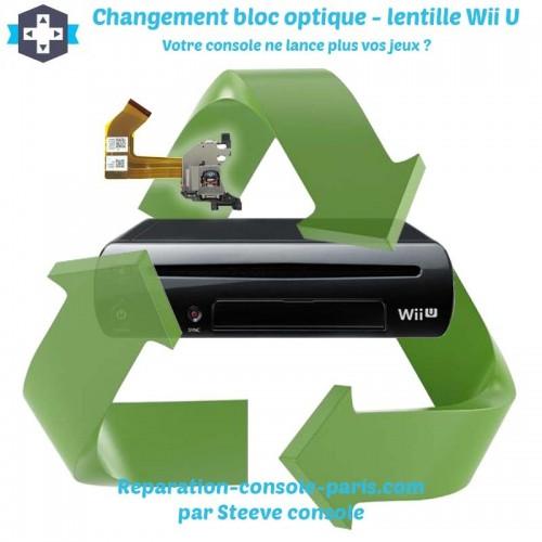Réparation lentille bloc optique Wii U