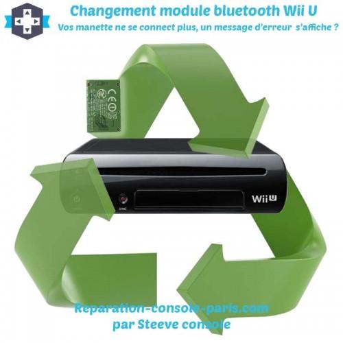 Réparation bluetooth Wii U message d'erreur