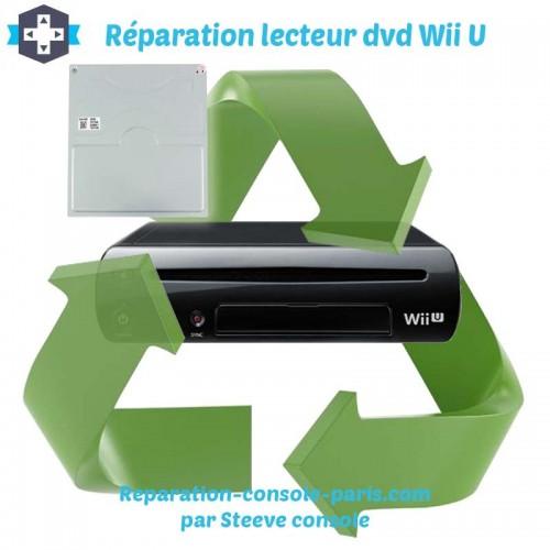 Réparation lecteur Wii U