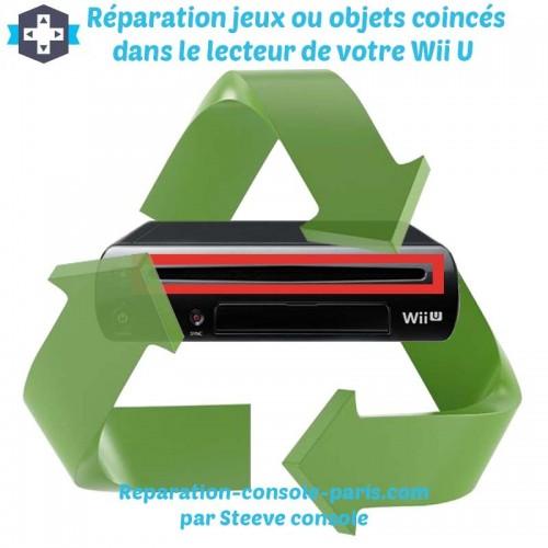 Réparation jeux ou objets coincés dans le lecteur de votre Wii U