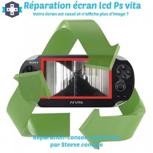 Réparation écran lcd cassé Ps vita