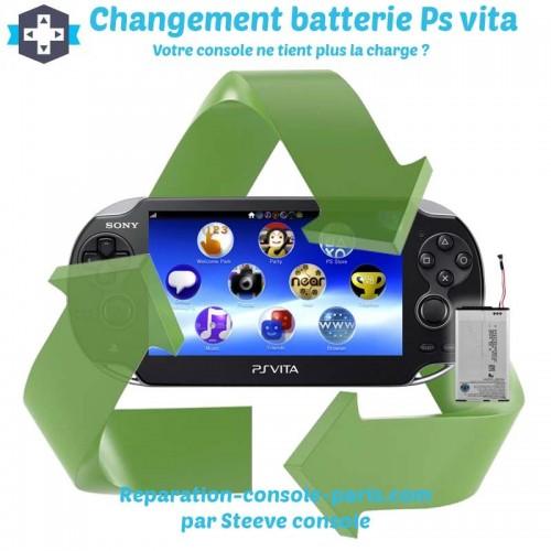 Changement batterie Ps vita
