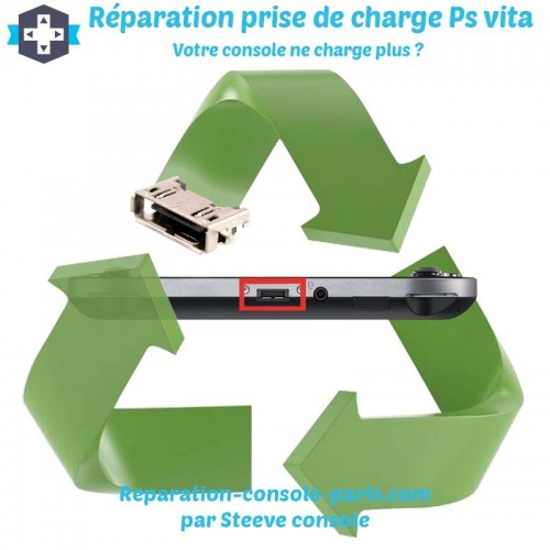 Réparation connecteur de charge Ps vita