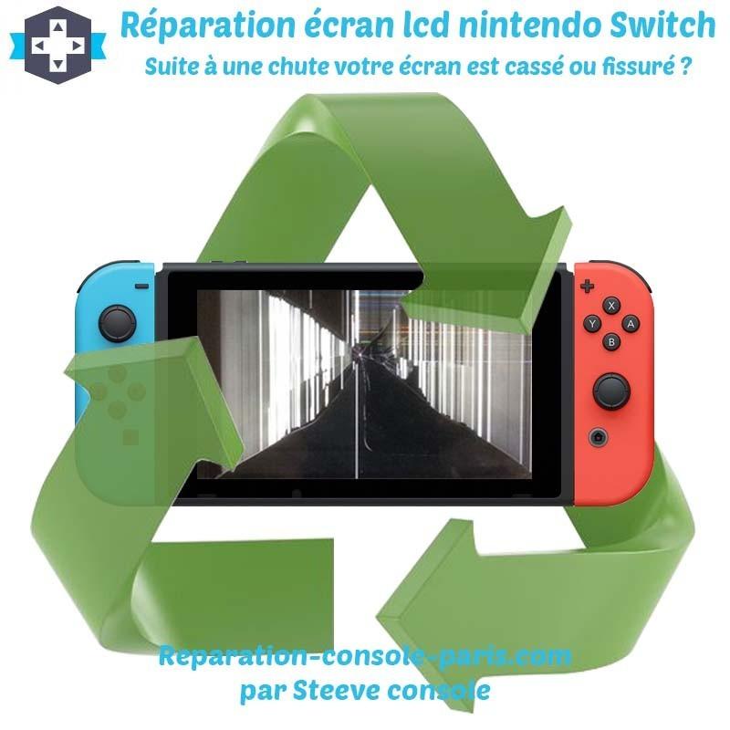 Réparation écran lcd nintendo switch